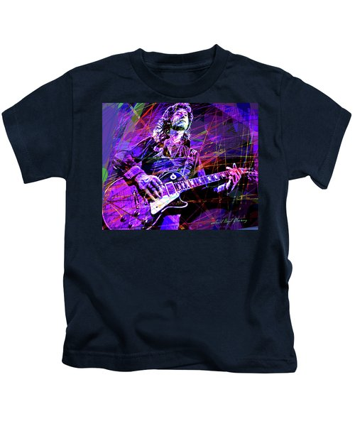 Jimmy Page Solos Kids T-Shirt