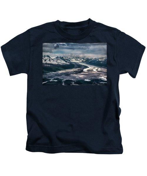 Kahiltna Glacier Kids T-Shirt