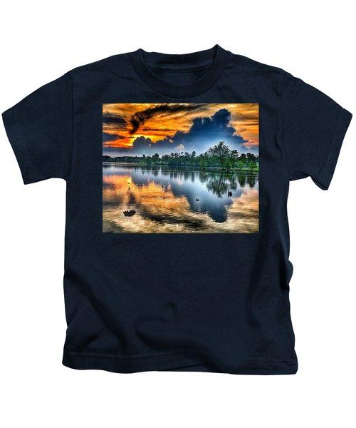 Kentucky Sunset June 2016 Kids T-Shirt