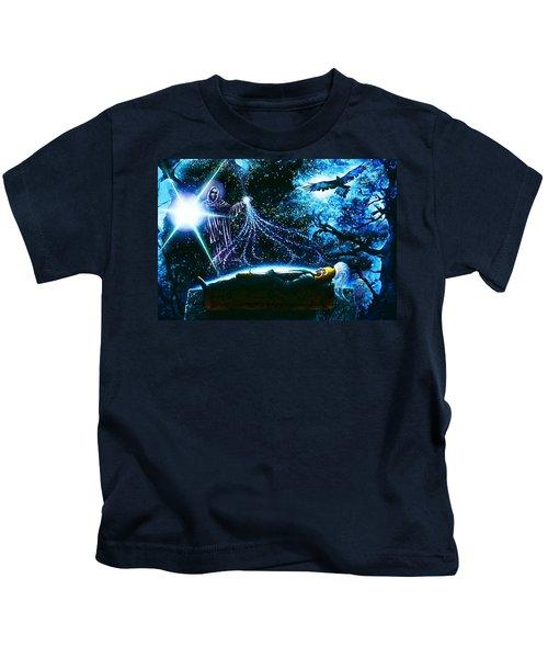 King  Arthur's Death Kids T-Shirt