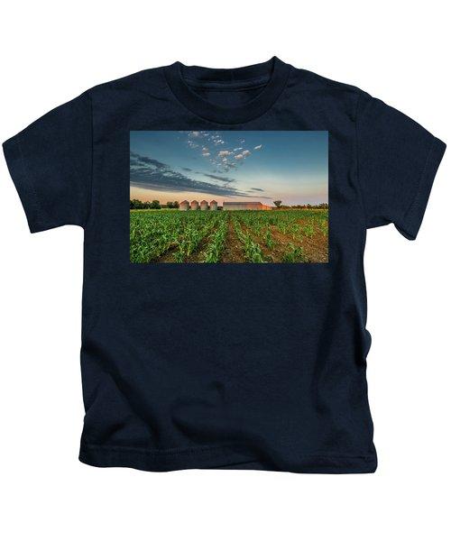 Knee High Sweet Corn Kids T-Shirt