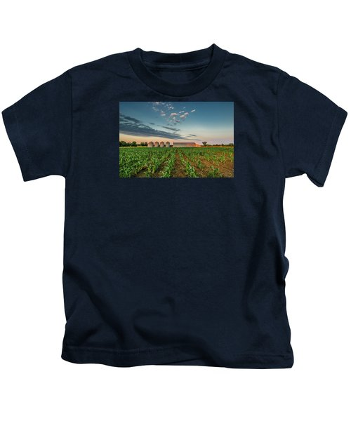 Knee High Sweet Corn Kids T-Shirt
