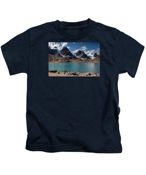 Laguna Chiar Khota In Condoriri Mountains Kids T-Shirt