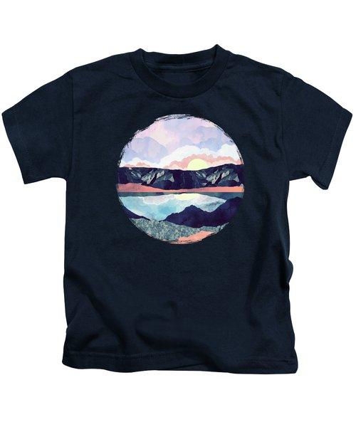 Lake Reflection Kids T-Shirt