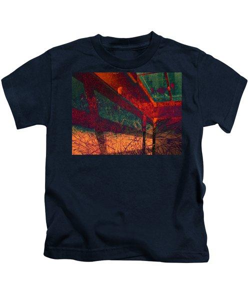 Last Night Under The Boardwalk Kids T-Shirt