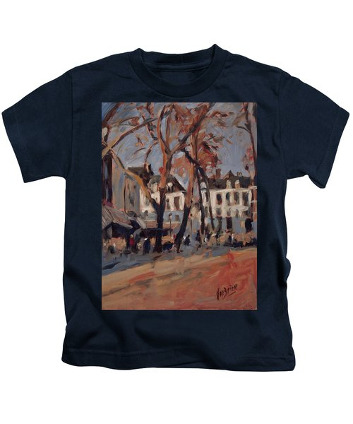 Last Sunbeams Our Lady Square Maastricht Kids T-Shirt by Nop Briex