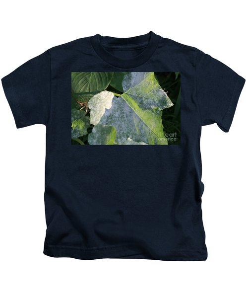 Calming Leafy Glade Kids T-Shirt
