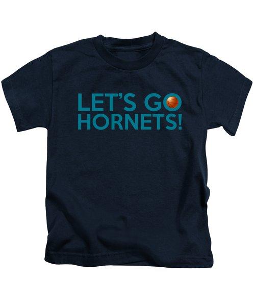 Let's Go Hornets Kids T-Shirt