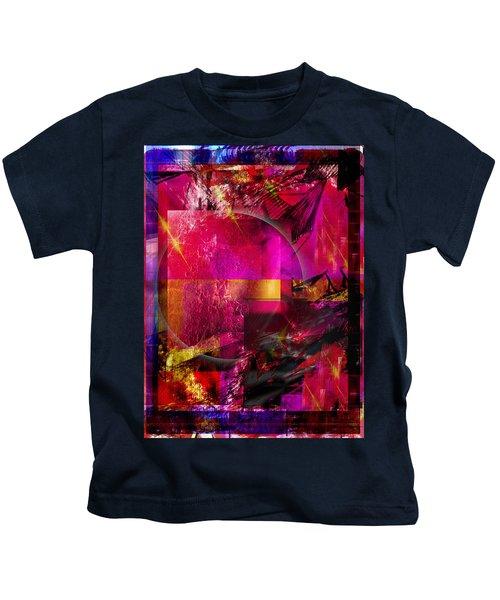 Light Particles Kids T-Shirt