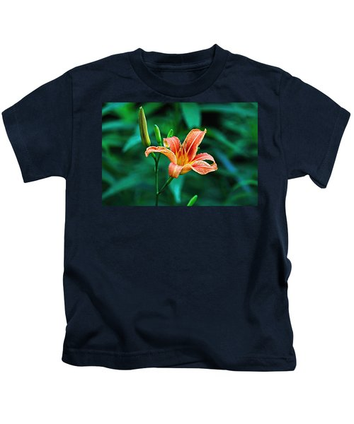 Lily In Woods Kids T-Shirt