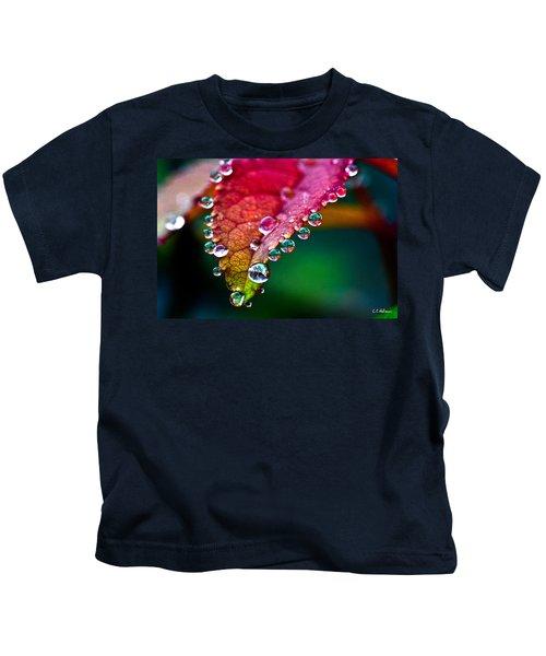 Liquid Beads Kids T-Shirt