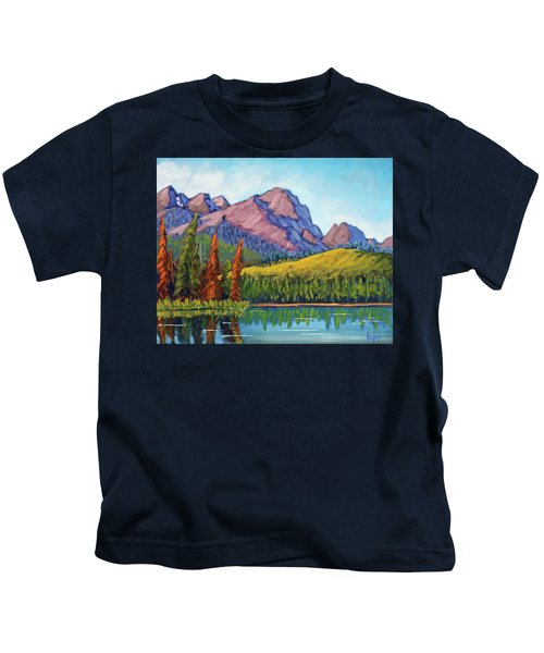 Little Redfish Lake Kids T-Shirt
