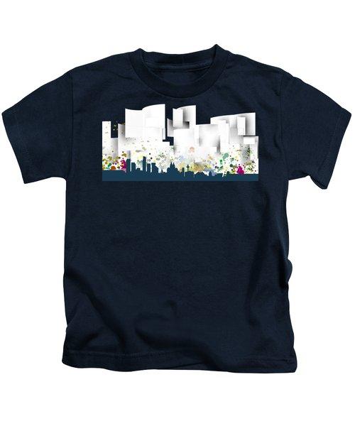 Liverpool Skyline .1 Kids T-Shirt