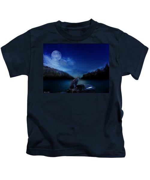 Lonely Hunter Kids T-Shirt