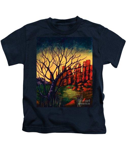 Lonesome Tree  Kids T-Shirt