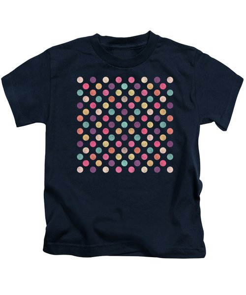 Lovely Polka Dots  Kids T-Shirt
