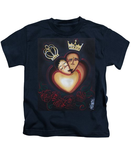 Lovers Embrace Kids T-Shirt