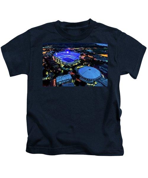 Lsu Tiger Stadium Supports Law Enforcement Kids T-Shirt
