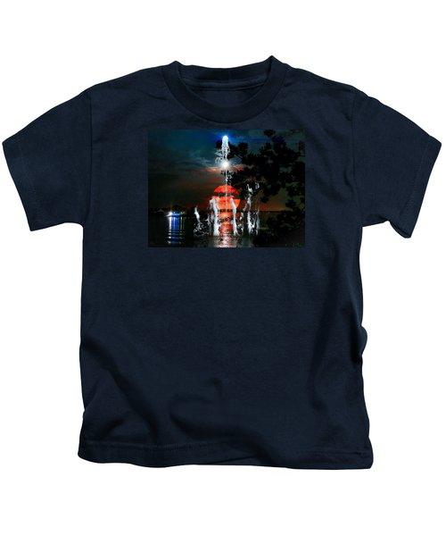 Lunar Event Horizon Kids T-Shirt