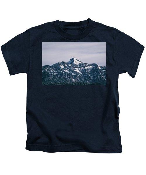 Majestic Morning On Pagosa Peak Kids T-Shirt