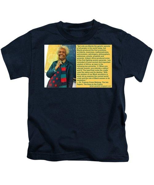 Mama Frances Cress Welsing Kids T-Shirt