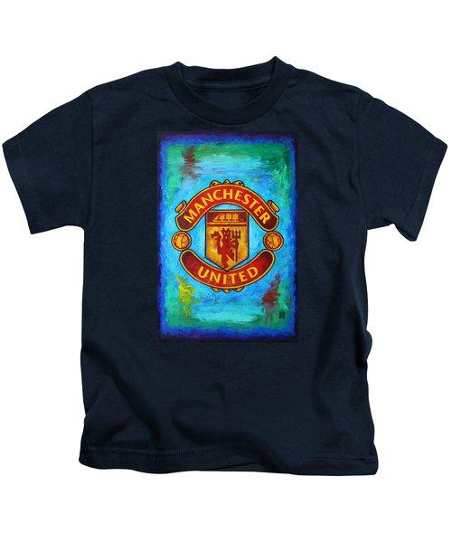 Manchester United Vintage Kids T-Shirt