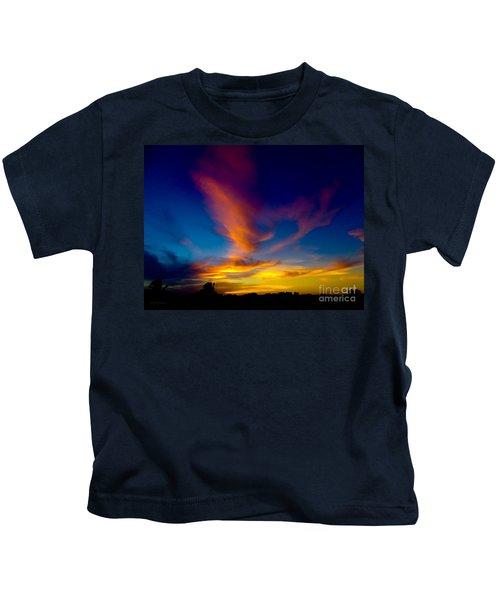 Sunset March 31, 2018 Kids T-Shirt