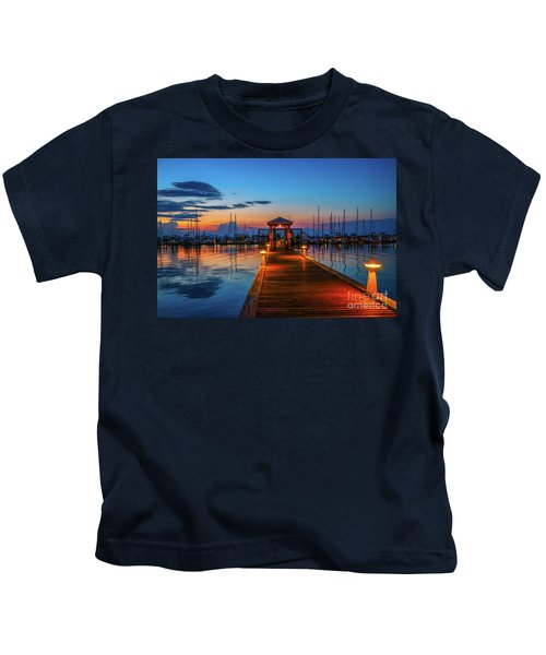 Marina Sunrise Kids T-Shirt