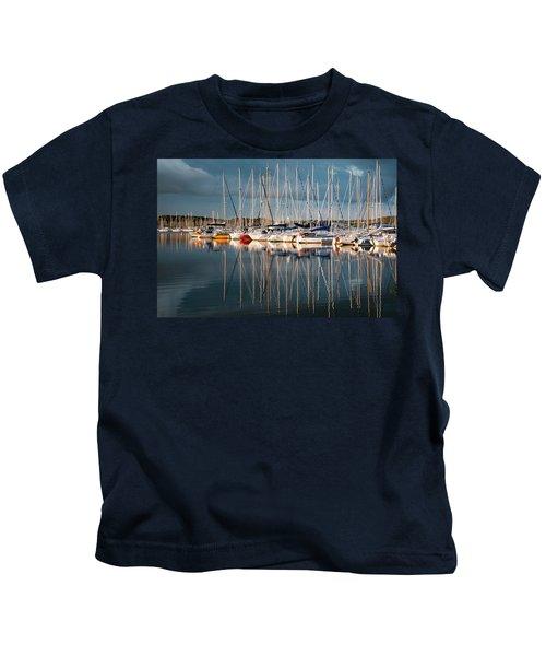 Marina Sunset 7 Kids T-Shirt