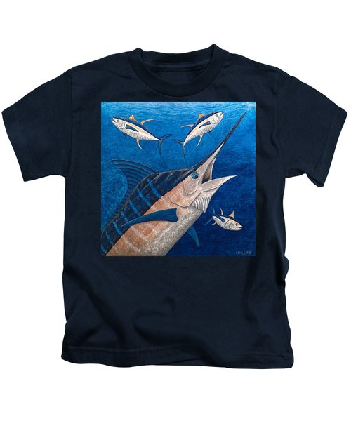 Marlin And Ahi Kids T-Shirt