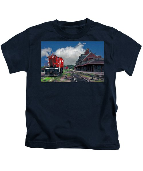 Mcadam Train Station Kids T-Shirt