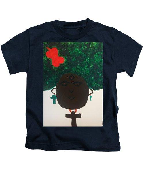 Meditation Queen  Kids T-Shirt