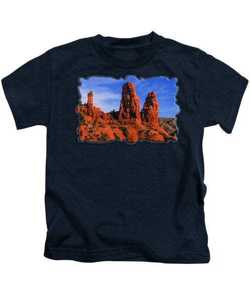 Megalithic Red Rocks Kids T-Shirt