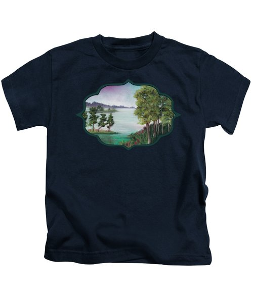 Melancholy Thoughts Kids T-Shirt