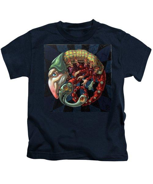 Memento Mori. Red Scorpion Kids T-Shirt