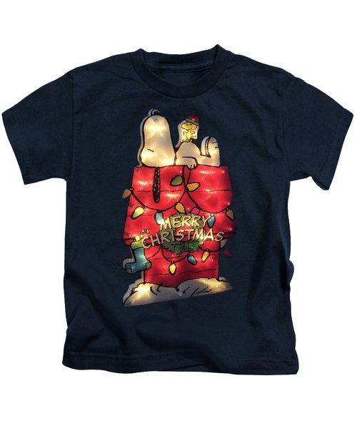 Merry Christmas Snoopy Kids T-Shirt