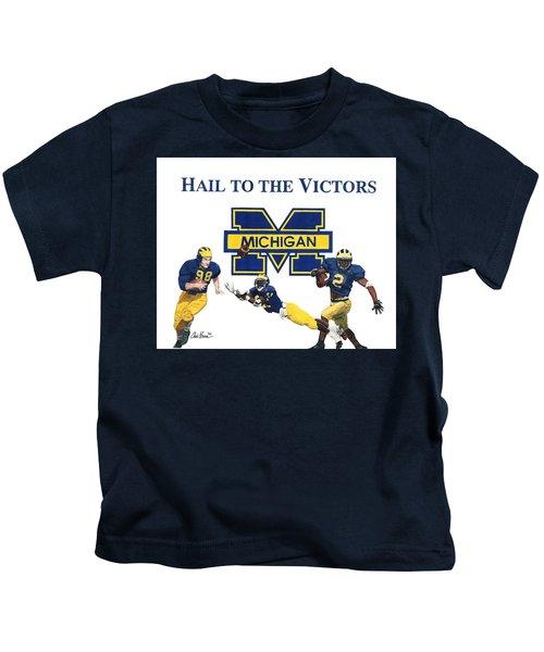 Michigan Heismans Kids T-Shirt