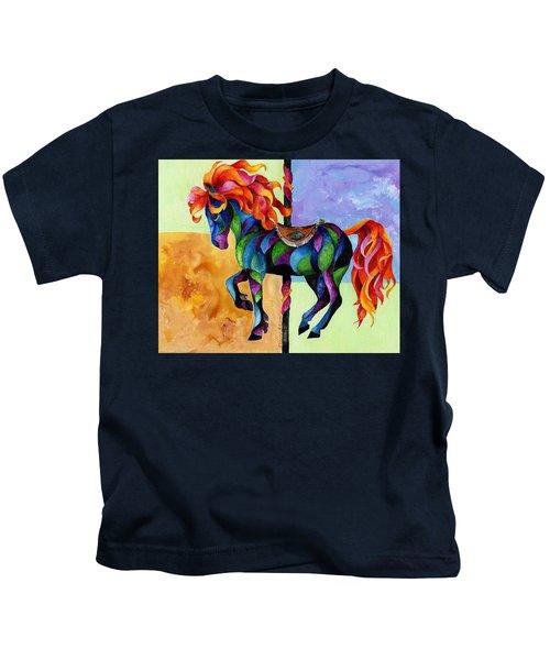 Midnight Fire Kids T-Shirt
