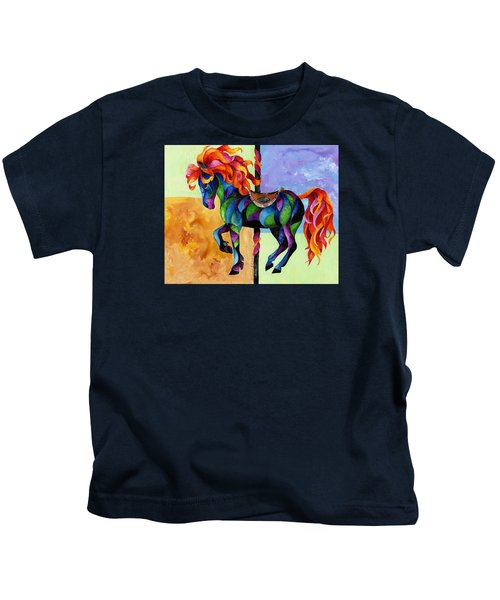 Midnight Fire Kids T-Shirt