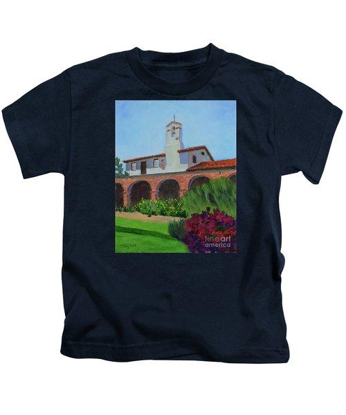 Mission San Juan Capistrano Kids T-Shirt
