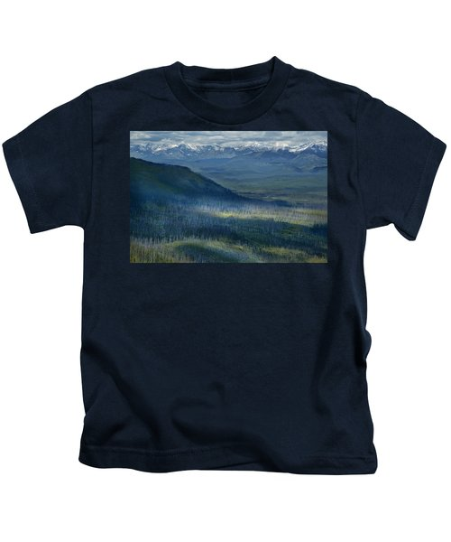 Montana Mountain Vista #3 Kids T-Shirt