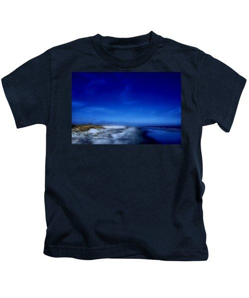 Mood Of A Beach Evening - Jersey Shore Kids T-Shirt