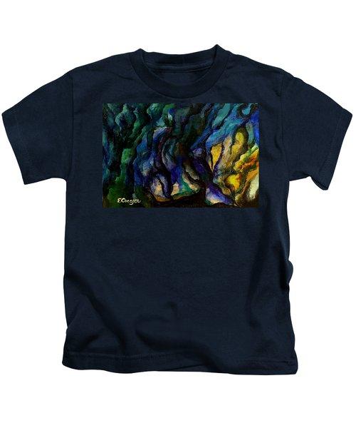Moody Bleu Kids T-Shirt