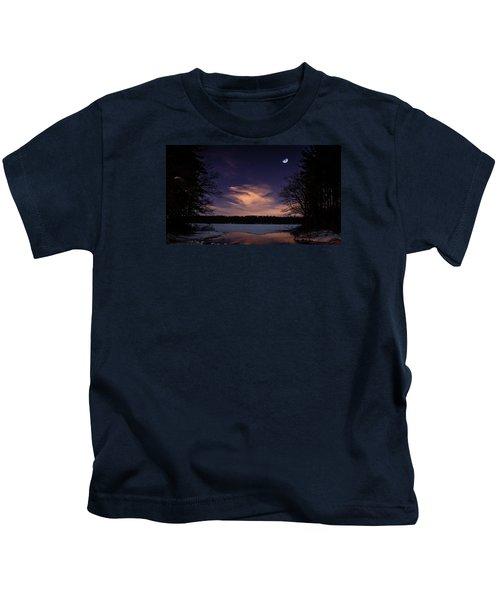Moon Lake Kids T-Shirt