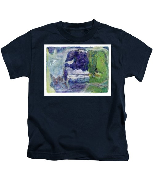 Moonlight Mountain Kids T-Shirt