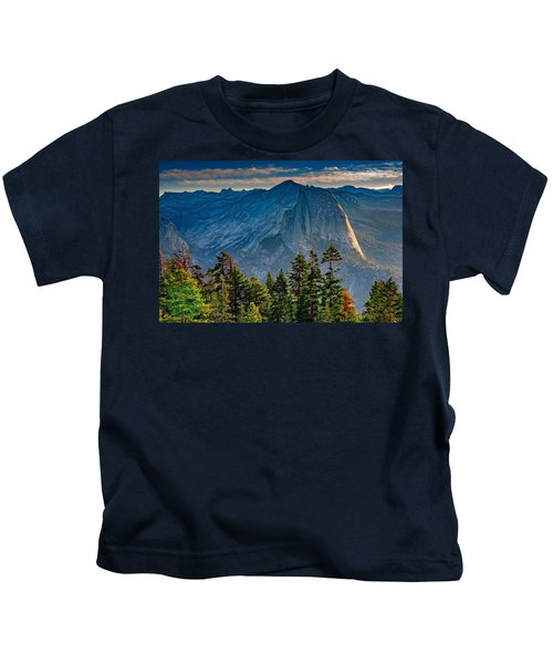 Morning At Half Dome Kids T-Shirt