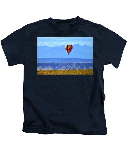 Morning In Montana Kids T-Shirt