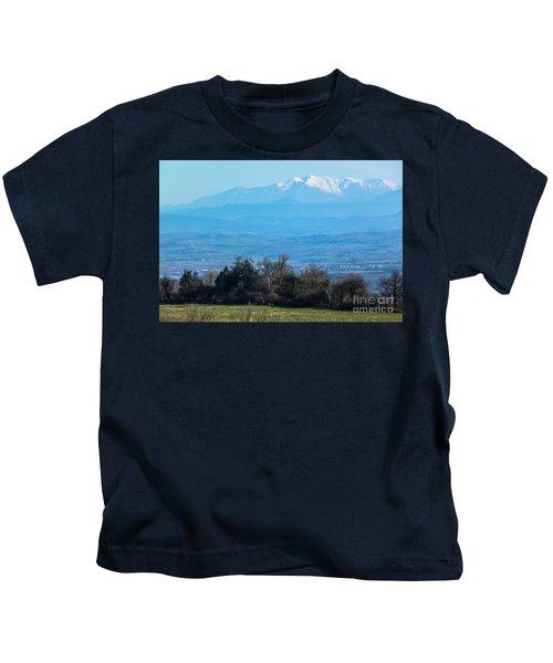 Mountain Scenery 6 Kids T-Shirt