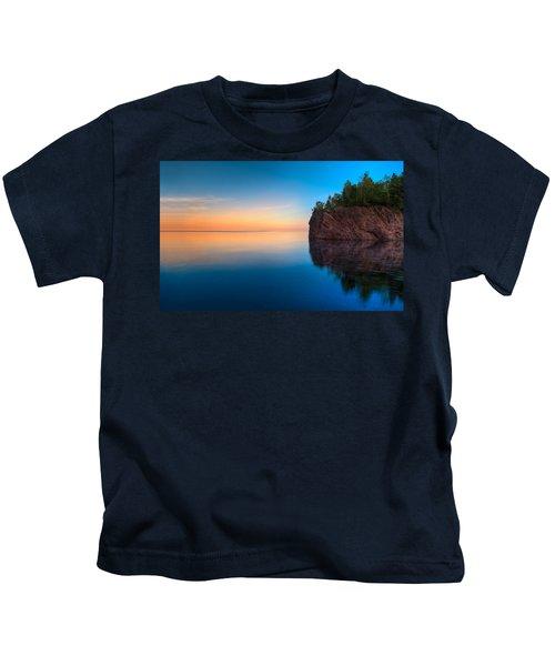 Mouth Of The Baptism River Minnesota Kids T-Shirt