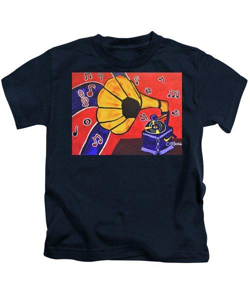 Music First Kids T-Shirt